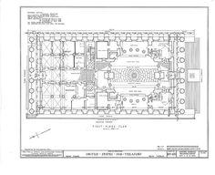 U. S. Custom House, 28 Wall Street, New York, New York County, NY HABS NY,31-NEYO,53- (sheet 3 of 15).tif