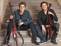 2 Cellos : Luka Sulic and Stejpan Hauser