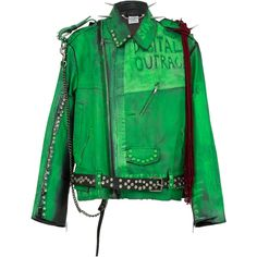 1610a0398 21 Best Green leather jacket images