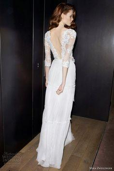 THINGS {SHE} LOVES: Pittsburgh Wedding Planner - Sleeved Wedding Dress  #OpenBack #WeddingDress http://www.illusionbridals.com/a-line-strapless-chapel-train-9427/