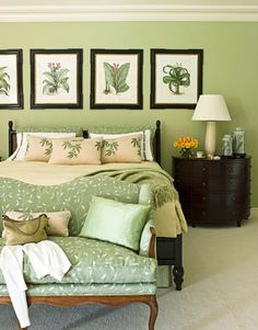 a home thats bright and full of energy - Green Bedroom Design