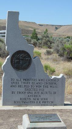 Glenns Ferry Three Island Crossing Idaho