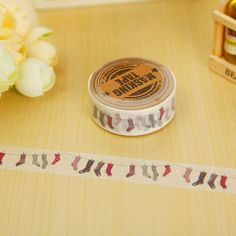 You know you want to buy this  Socks Washi Tape, Daily Life Washi Tape, Socks Decorative Tape, Decorative Washi, .. https://www.etsy.com/listing/529208525/socks-washi-tape-daily-life-washi-tape?utm_campaign=crowdfire&utm_content=crowdfire&utm_medium=social&utm_source=pinterest