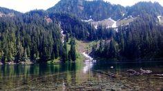 The pristine Annette lake (Annette Lake Trail- 6.2 mile hike)