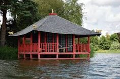 Image result for japanese tea house Parque Linear, Japanese Tea House, Japanese Landscape, Pavilion, Gazebo, Outdoor Structures, Cabin, House Styles, Image