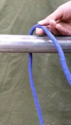 Rope Knots, Macrame Knots, Survival Knots, Survival Skills, Fishing Hook Knots, Sailing Knots, Knots Guide, Rope Art, Everyday Hacks