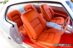 1972 Holden HQ GTS Monaro grey silver orange interior custom