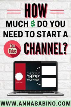 Start Youtube Channel, Making Youtube Videos, Making Money On Youtube, Youtube Money, How To Start Youtube, Tips Online, Online Jobs, Online Earning, Earn Money Online