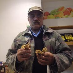 Talked to a true local in Puglia about mushrooms. #porcini #funghi