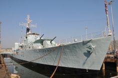 HMS Cavalier at the Historic Dockyard, Chatham