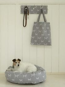 Stylish Dog Lead Hooks, Tote Bag & Donut Dog Bed from The Stylish Dog Company (adorable dog not included! Dogs Of The World, Dog Bed, Cute Dogs, Hooks, Tote Bag, Stylish, Grey, Prints, Animals