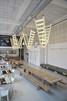 Una escalera como iluminación » Blog del Diseño
