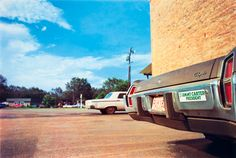 William Eggleston, Untitled (Carter bumpersticker), 1976
