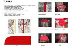 Patchwork = barevná geometrie - Fotoalbum - Návody - Taška - batůžek