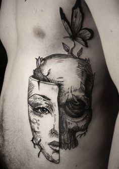 I think this is the most amazing tattoo I've ever seen. Great concept: