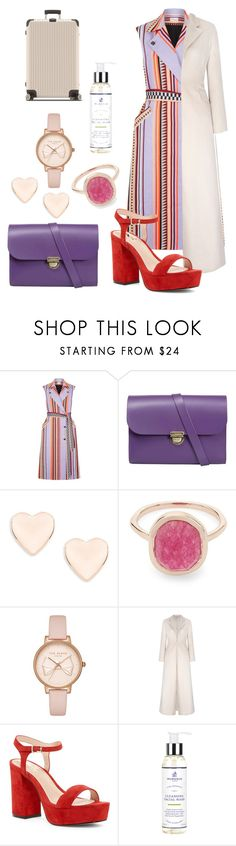 """""""Day 80 - 100 day Challenge"""" by sofifer ❤ liked on Polyvore featuring Temperley London, N'Damus, Ted Baker, Liberty, Shellys, Murdock London and Rimowa"""