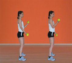 Fitness in casa: gli esercizi per braccia e spalle