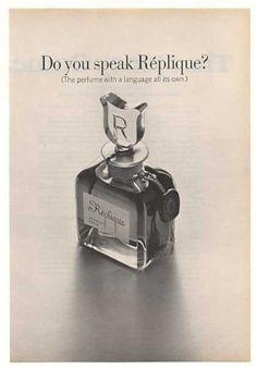 '68 Do You Speak Replique Perfume Bottle Photo (1968)