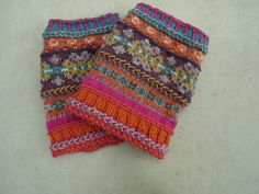 Ravelry: Yvonne85's ankle warmers