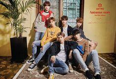 "Astro 3rd mini album ""Autumn Story"" - Concept photo"