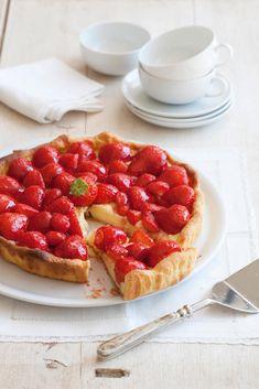 Sweet Recipes, Real Food Recipes, Cake Recipes, Dessert Recipes, Belgium Food, Strawberry Tart, Sweet Bakery, Bread Cake, Happy Foods