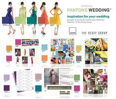 Pantone wedding inspiration