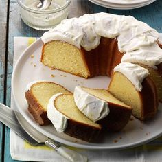 California Lemon Pound Cake Recipe -Citrus trees grow abundantly in California, and I'm always looking for new recipes which use the fruit from the orange and lemon trees in my yard. This is one of my favorites! My mother passed this recipe down to me. —Richard Killeaney, Spring Valley, California