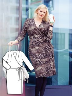 Read the article 'Power Dressing: 7 New Plus Size Sewing Patterns' in the BurdaStyle blog 'Daily Thread'.