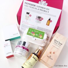Memebox Free From Oil & Trouble 4 Review + Promo Codes