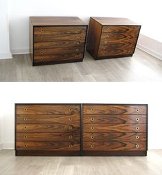 Robert Heritage for Archie shine rosewood chest of drawers