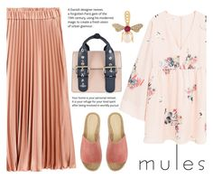 """mules"" by juliehalloran ❤ liked on Polyvore featuring MANGO, Mint Velvet, Yvonne Léon and Vivienne Westwood"