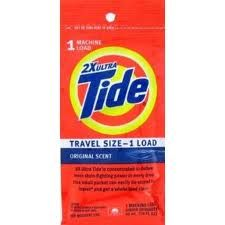 Travel detergent - sometimes you need to wash your clothes in the sink...