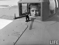 B-17, tail gun