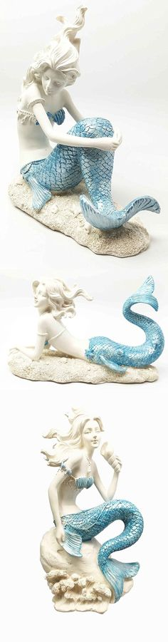 Beautiful Mermaid Decor Accessories Bring Ocean Home , Whether you're searching for a little bathroom rug or a massive centerpiece for your living space, there's definitely something available for you. Mermaid Nursery Theme, Mermaid Wall Art, Mermaid Bathroom, Mermaid Room, Beautiful Ocean, Beautiful Mermaid, Creative Decor, Unique Home Decor, Home Decor Sculptures