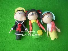 Ponteiras Chaves, Kiko e Chiquinha, acompanha lápis preto. R$ 6,00