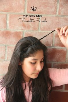Amazing hairstyle with any kind of braid in just 2 minutes! #minimalism #hairstyle1#cutehairstyle #everydayhair #2minuteshair | THE LOOK BOOK by Farishta Sakib