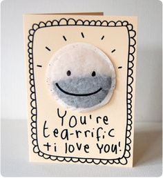 Valentines Card featured on Just Listen - would also be a great mothers day card!