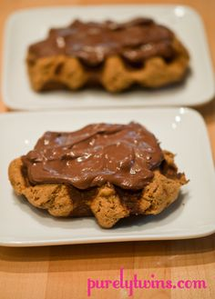 egg-free dairy-free muffin meets waffle recipe