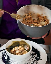 Eggplant Dirty Rice Healthy & Delicious:This spicy one-pot take on the New Orleans classic dirty rice makes a hearty main dish or an excellent accompaniment to a simple protein.