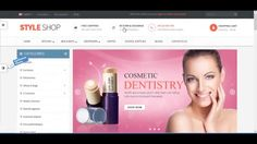 Responsive Opencart Theme - Pav StyleShop