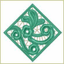 Rhombus Coaster #1