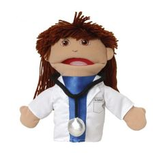 Marvel Pretend Play Puppetry Medical Doctor Hand Puppet for sale online Diversity In The Classroom, Inclusion Classroom, Preschool Supplies, Teacher Supplies, Preschool Curriculum, Puppets For Sale, Puppet Patterns, Community Helpers, Hand Puppets