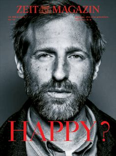 Zeit Magazin – no. 12 with Spike Jonze on the cover (gif)