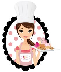 N~juz Cake & Cookies Logo Cookies, Cake Cookies, Chef Logo, Kitchen Logo, Bakery Business Cards, Cake Logo Design, Cake Quotes, Bakery Logo, Decoupage Paper
