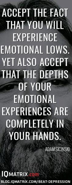 How to Beat Depression: http://blog.iqmatrix.com/beat-depression