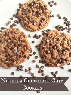 Grab your glass of milk for this divine cookie. We had some extra Nutella laying around from the massive two pack you get at Costco so why not make some cookies? Really, who needs an excuse to make cookies though? Not I. This recipe is full of flavor and tastes delicious. The recipe made about …