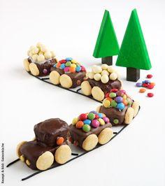 Famigros - Eisenbahn-Torte