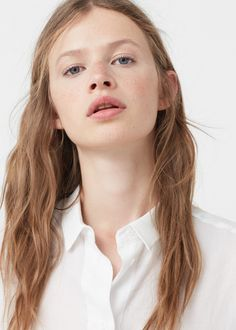 Cotton shirt | MANGO