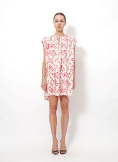 Balenciaga cherry blossom dress