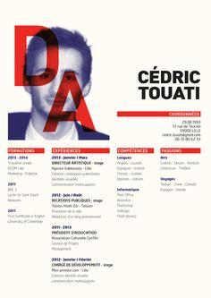 Cédric Touati   Directeur Artistique/Art Director   CV/Resume